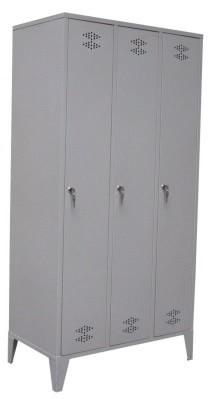 Garderobekast 3 delig – 3 deuren