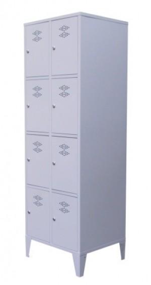 Garderobekast 2 delig – 8 deuren