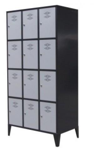 Garderobekast 3 delig – 12 deuren